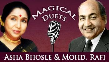 Duets Of  Rafi and Asha